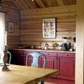 Inspiration for the kitchen of a rustic cabin cottage lodge or beach