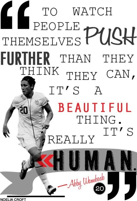 Soccer Wallpaper Quotes Mia Hamm Abby Wambach Quotes Quotesgram