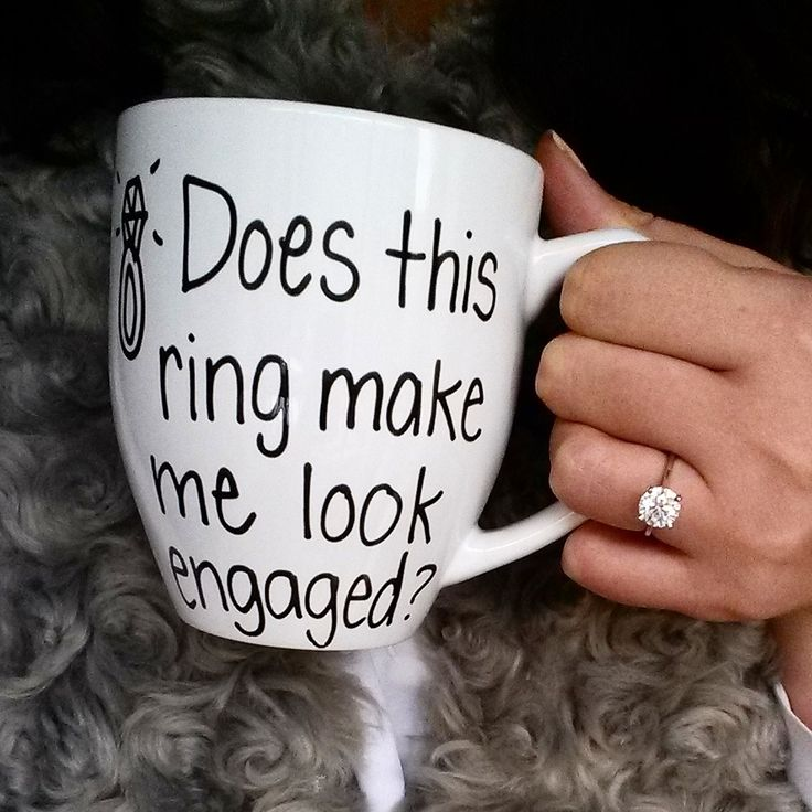 Does This Ring Make Me Look Engaged? - Engagement accessories on Early Ivy