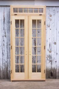 French Doors Exterior: Narrow French Doors Exterior