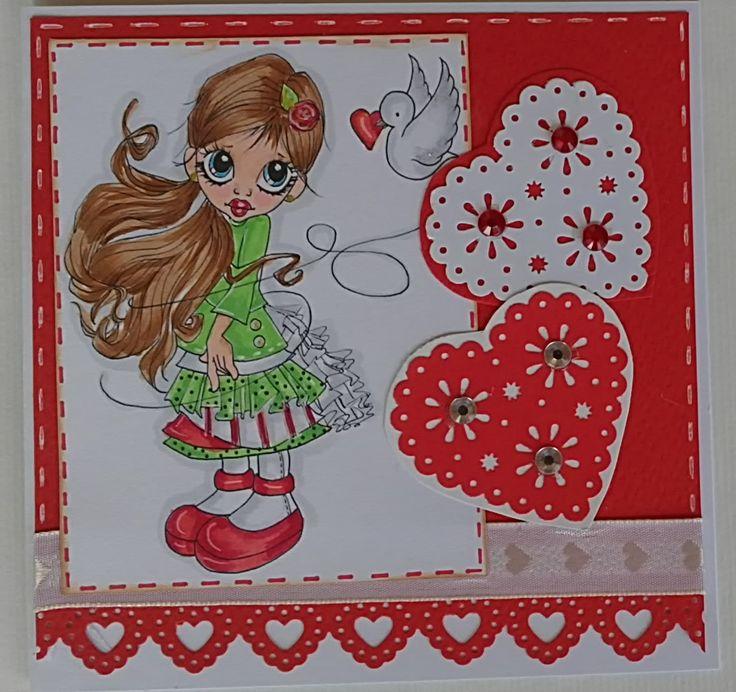 Valentine Card My Cards Pinterest
