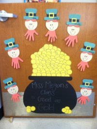 March Door | classroom door decorating ideas | Pinterest