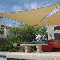 Shade Sail Triangle 11'10 | outdoor living | Pinterest