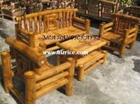 Patio Furniture: Bamboo Patio Furniture