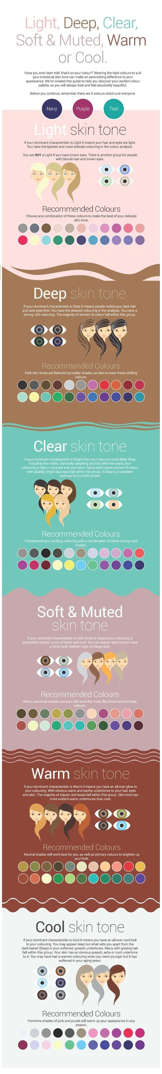 What Colors to Wear to Match Your Skin Tone.
