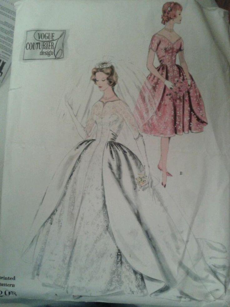 Vintage Vogue Wedding Dress Patterns