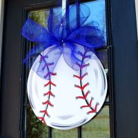 Door Hanger: Baseball, Softball, Baseball Wall Decor ...
