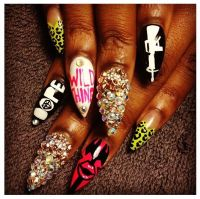 The gallery for --> Dope Stiletto Nails Tumblr