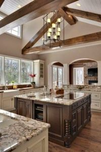 High Ceiling Kitchen | Home decor | Pinterest