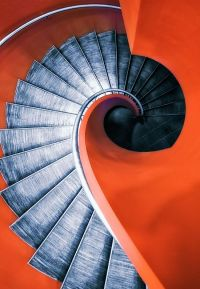 Awesome spiral staircase. | Staircases... | Pinterest