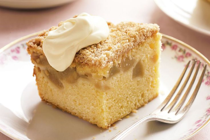 apple crumble cake recipes pinterest