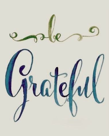 gratitude, thankful, grateful