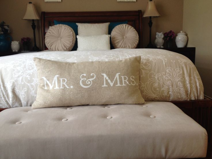 And Mr Storehouse Mrs Decorative Pillows