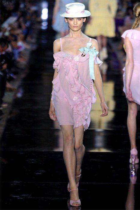 Vestido Galliano