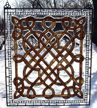 Celtic stained glass | Design Ideas / Patterns | Pinterest