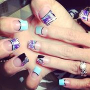 crazy nail design beauty