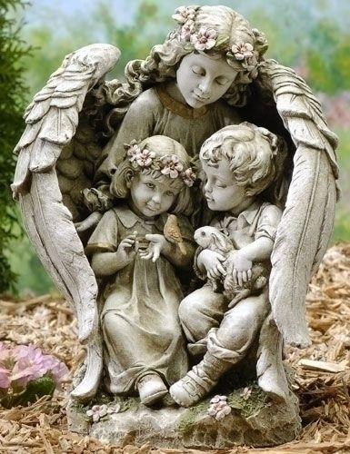 'Angel with children. so pretty!' AHHHH SADFKJSADLKFJASLDKJFLKJS PEOPLE RUN RUN FOR YOUR YOUR LIVES GAHHHHHHHHHHHHHHH