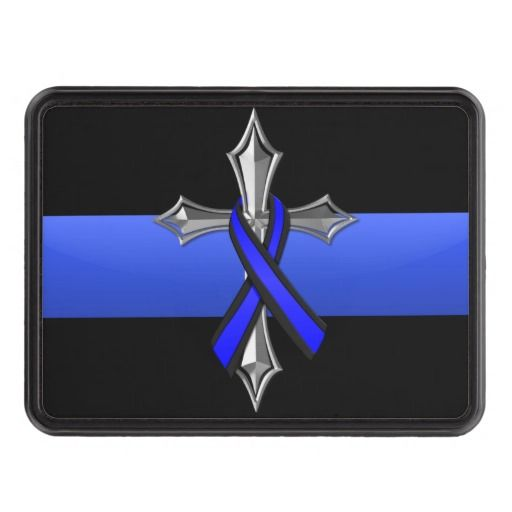 Nails Police Thin Blue Line