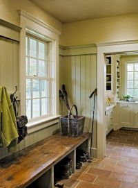 Farmhouse mudroom by pauline | Entry | Pinterest