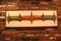 Mid Century / Danish Modern Atomic WITCO Styled Wall Art