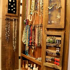 Wall Mounted Kitchen Utensil Holder Shelf Display Ideas Organic: Jewelry Organizer