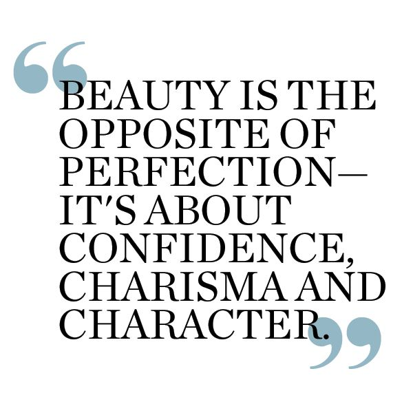Inner beauty-- becomes outer beauty. If you are nasty and mean to others your appearance is perceived that way...