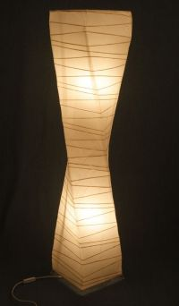 Paper Floor Lamp | All The Single Ladies | Pinterest