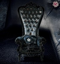 goth gothic chair victorian furniture | Fashion and ...