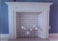 Faux Brick Fireplace | Mantle Mania | Pinterest