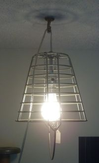 Egg Basket Light Fixture!
