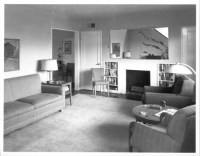 1940s living room. Clean and simple. | vintage retro ...