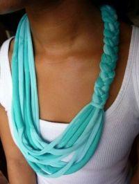 No sew scarf