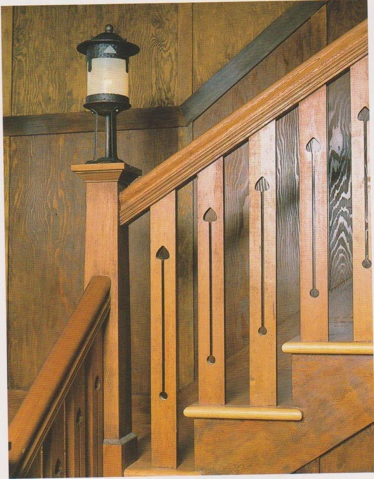 Craftsman Stairs Craftsman Style Pinterest | Craftsman Style Stair Railing