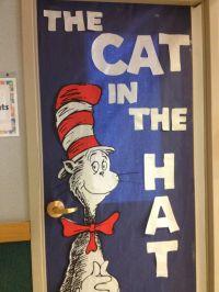 Dr seuss, Cat in the Hat Door decoration | Dr. Seuss ...