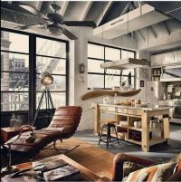 rustic loft | Homes - Ideas | Pinterest