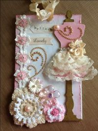 Shabby+chic+tag - Scrapbook.com | TAGS! | Pinterest