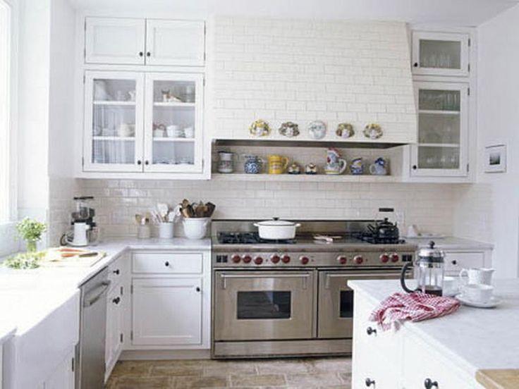All White Small Kitchen Ideas