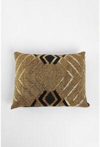 gold & black beaded pillow | pillow talk | Pinterest