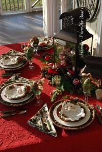 Christmas Table Setting   Christmas Party and Table ...