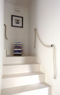 10 Favorites: Simple Rope Stair Rails by