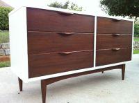 painted mid-century modern dresser | Painted furniture ...