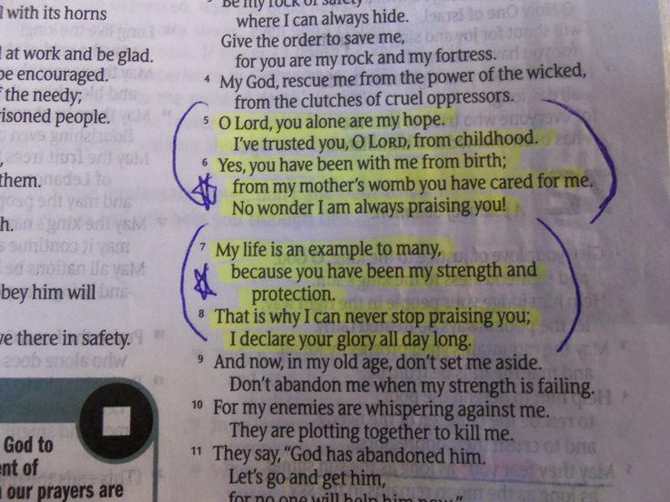 Psalm 71:5-8