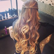 prom hair #ombre #curls