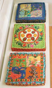bohemian pillows | Boho | Pinterest