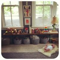 Bench + storage under window | Kids room inspiration ...