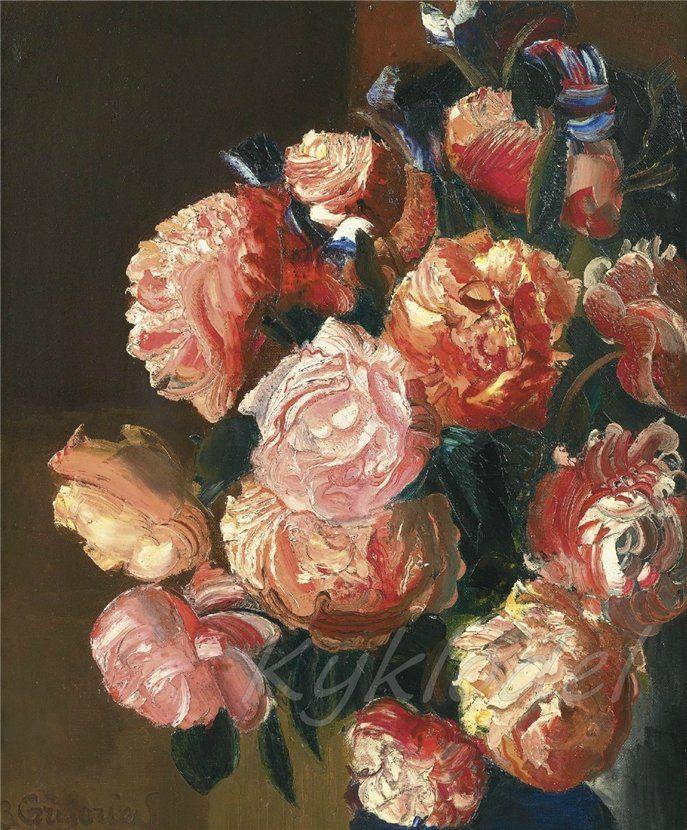 Flowers, Boris Grigoriev