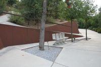 Corten steel retaining wall | Garden design: retaining ...