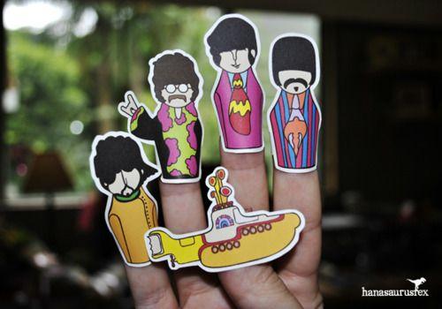 Beatles dedal