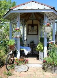 Shabby Chic Garden Gazebo | Gazebo's | Pinterest