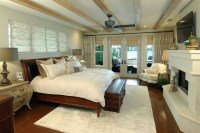 Casual chic master bedroom